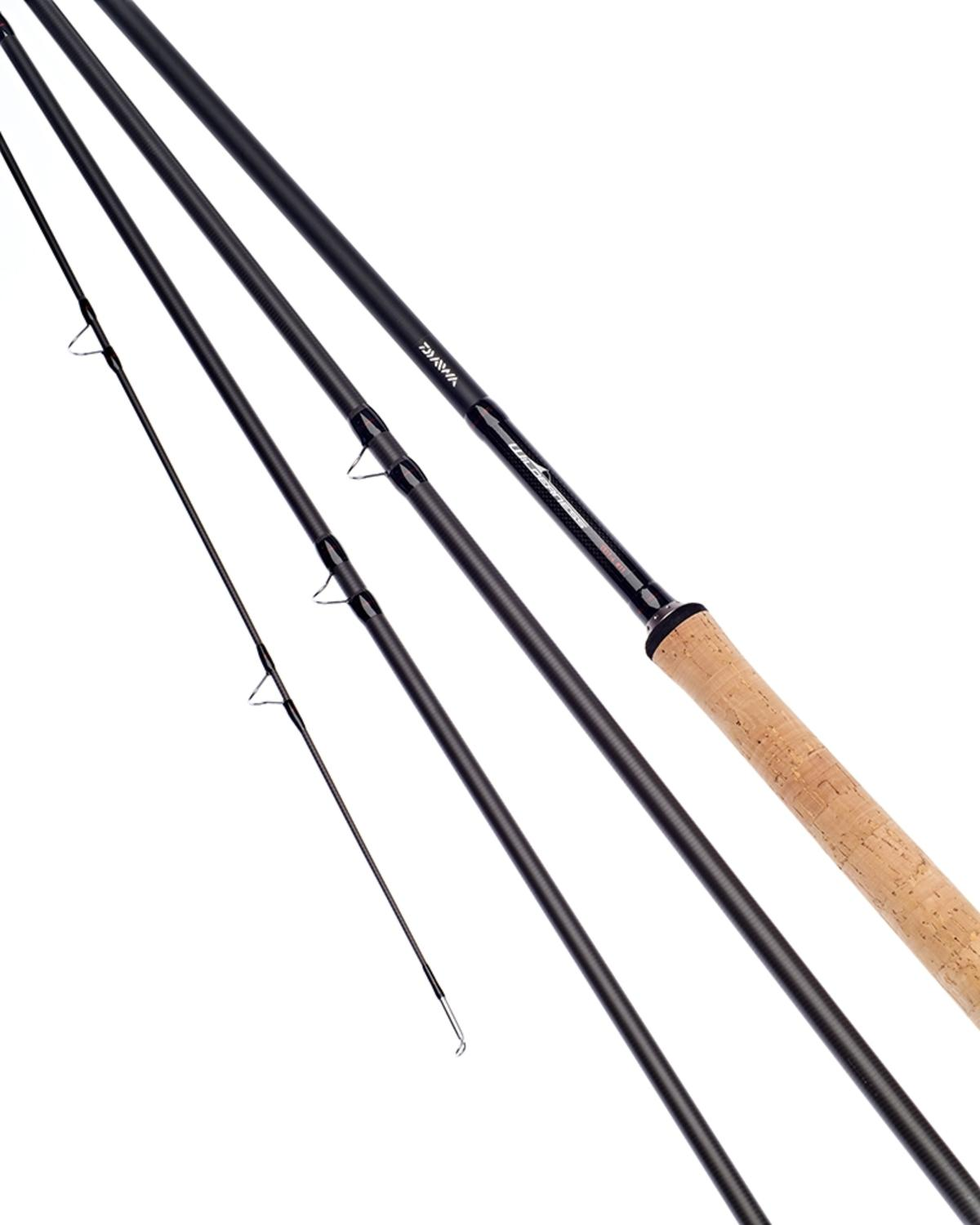 Ex Display Daiwa Wilderness Salmon Fly Rod 15ft #11 4 Section - WNSF1511-4-BU