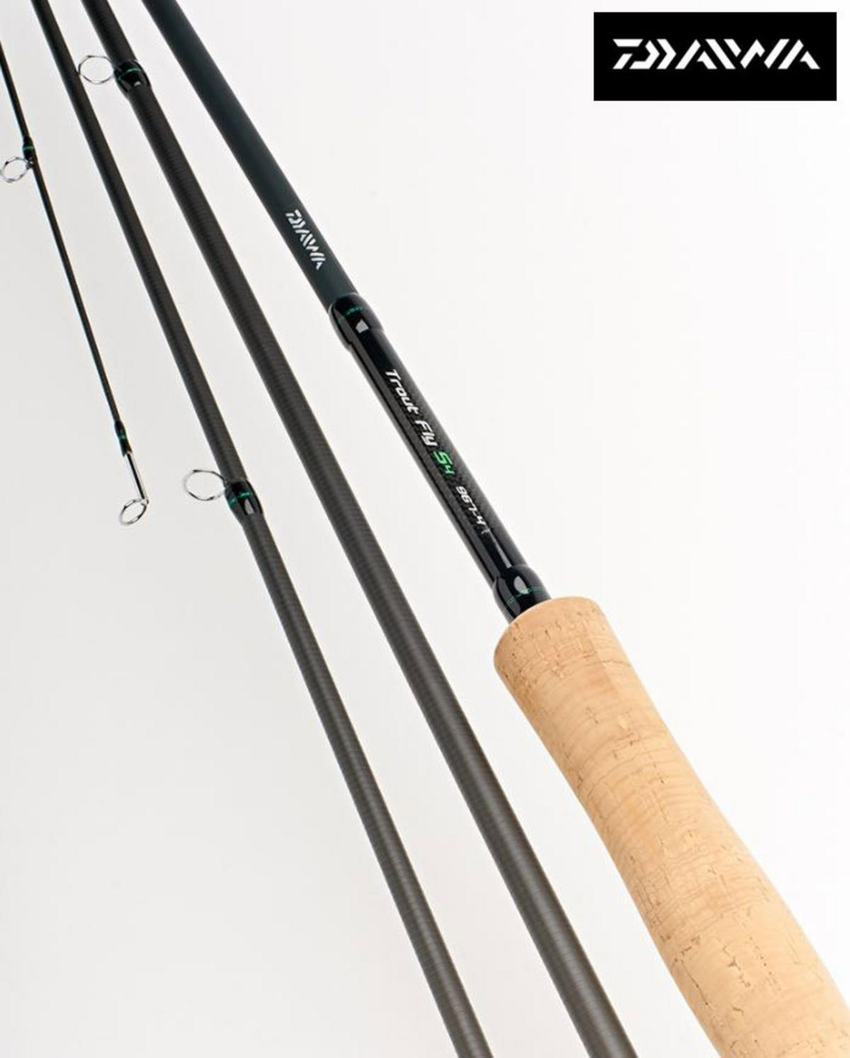 New Daiwa D Trout S4 Fly Fishing Rods - All Models Available