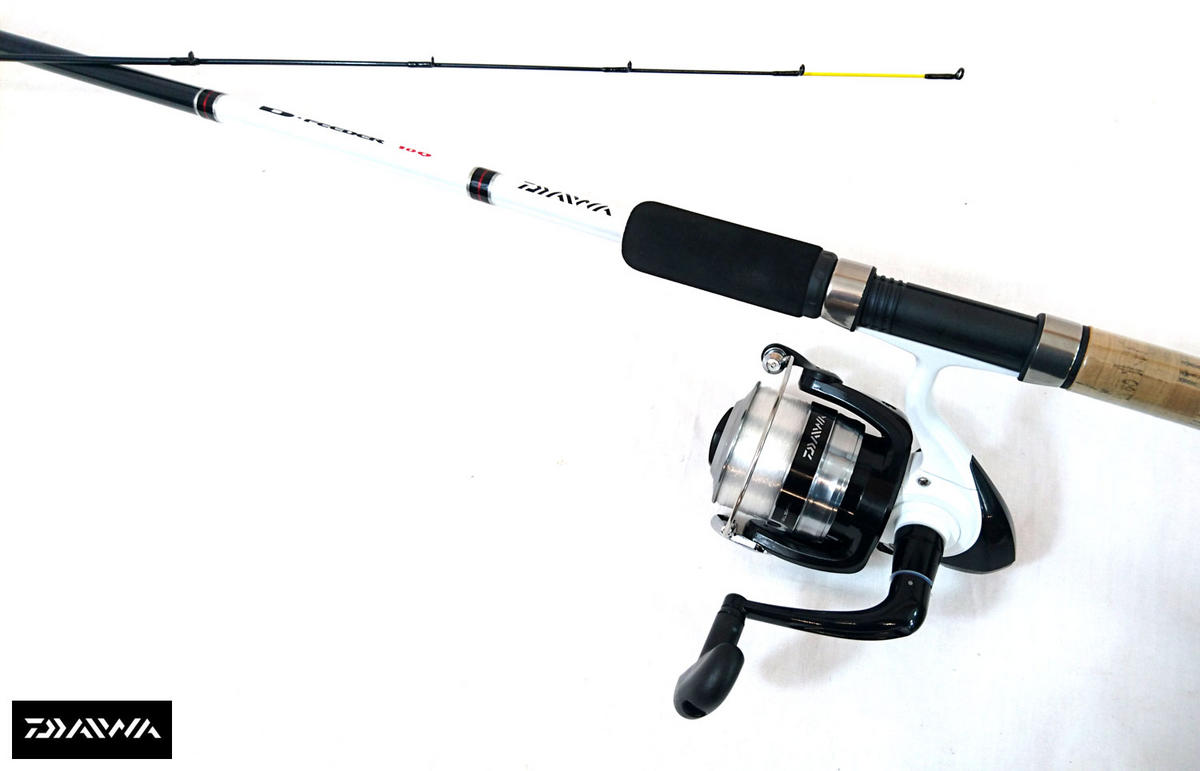 New Daiwa D Feeder Fishing Kit - 11ft Quiver Rod / D4000 reel - DF11MQ/DM4000-8C