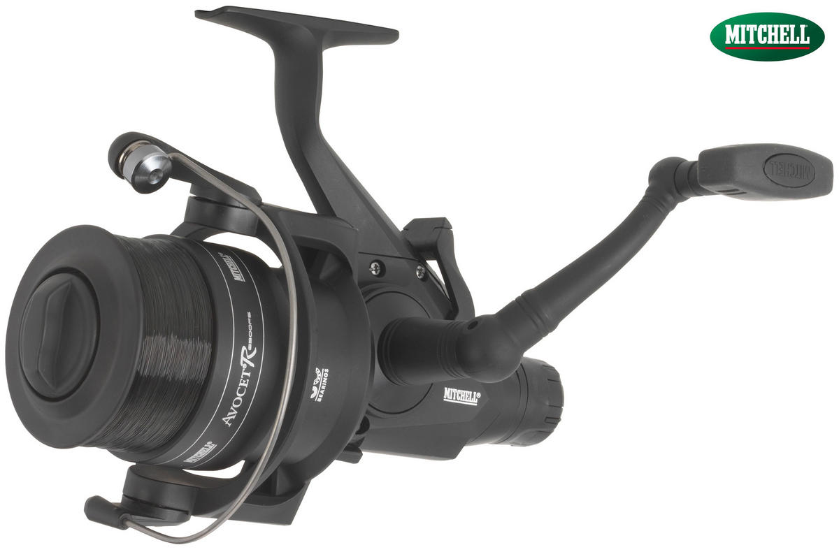 Mitchell Avocet FS5500R Black Edition FreeSpool Fishing Reel - Loaded with Line