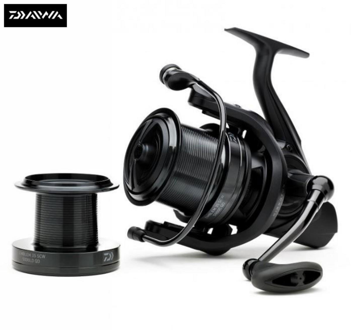 New Daiwa 18 Emblem 35 SCW 5000C QD Carp Fishing Reel - 18EM35SCW5000CQD