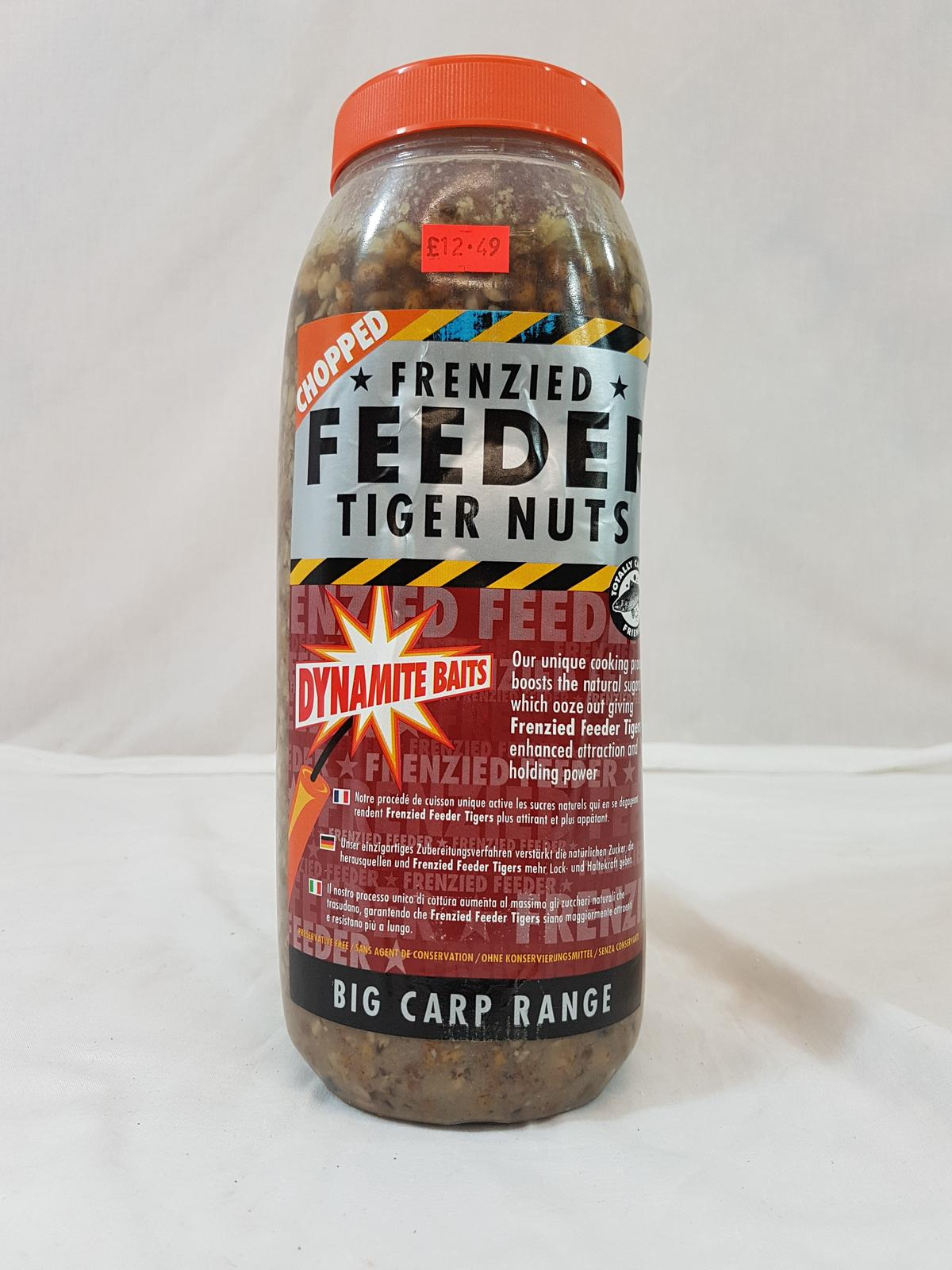Dynamite Baits Frenzied Feeder 2.5l Jar of chopped tiger nuts