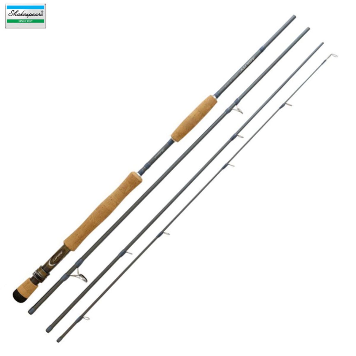 New Shakespeare Agility 2 XPS Fly Fishing Rod 9ft #10 4pc 1381010