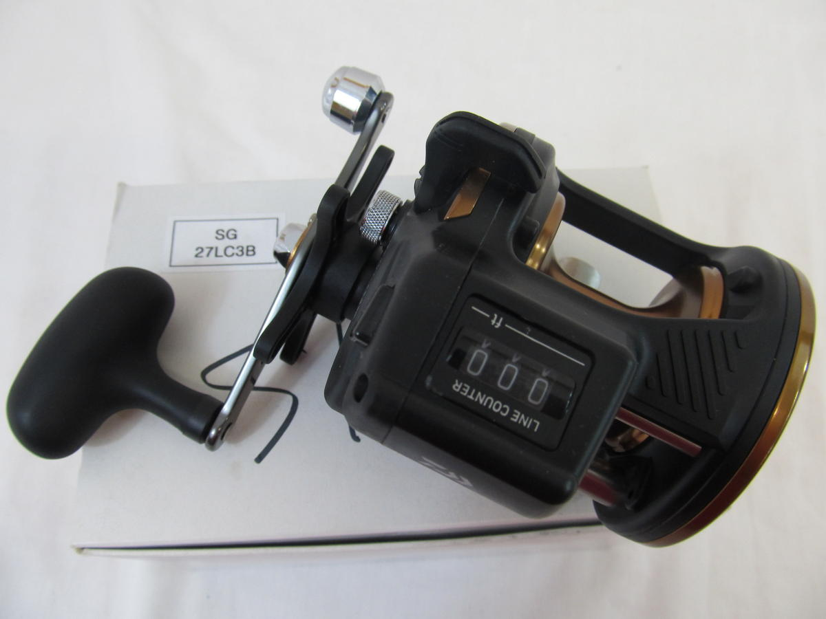 EX DISPLAY DAIWA SEALINE MULTIPLIER FISHING REEL  SG27LC3B