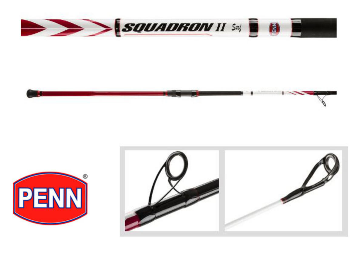 New Penn Squadron II / Mk2 Surf Rod - 12ft / 4-6oz / 2pc - 1436230