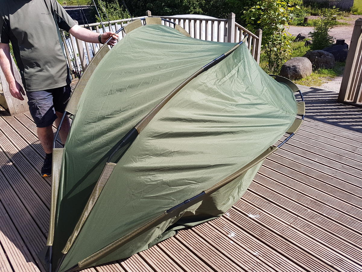 EX DISPLAY DAIWA INFINITY BIVVY