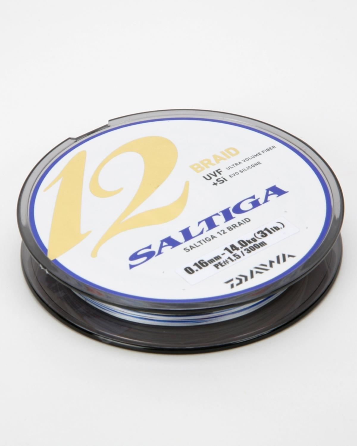 CLEARANCE NEW DAIWA SALTIGA 12 BRAID 300m SPOOL ALL BREAKING STRAINS RRP £94.99