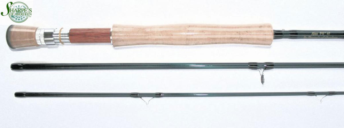 Sharpe's of Aberdeen Ajax 9'6' #7 3pc Fly Fishing Rod