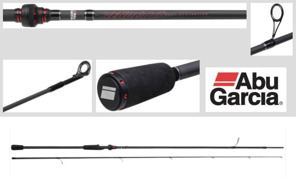 New Abu Garcia Vendetta Spinning Rod - 8ft / 9ft / 10ft