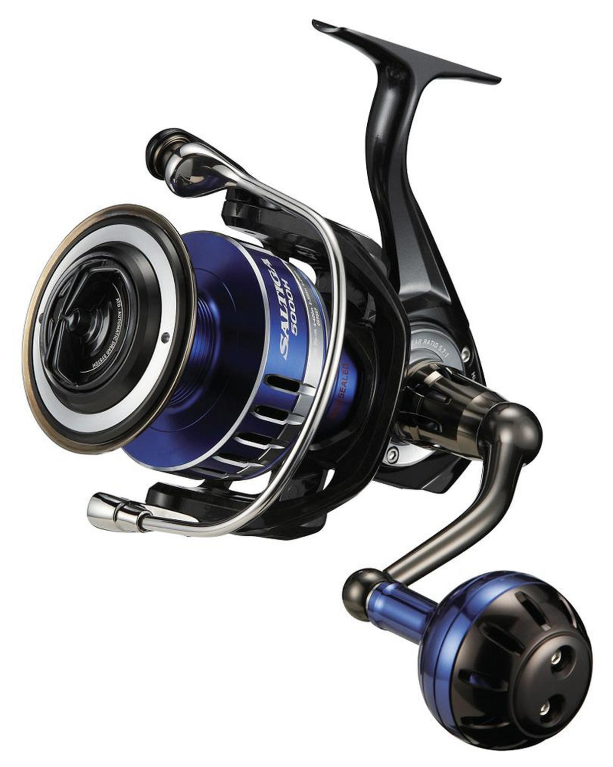 EX DISPLAY DAIWA 15 SALTIGA 5000H MAG SEALED FIXED SPOOL FISHING SPINNING REEL
