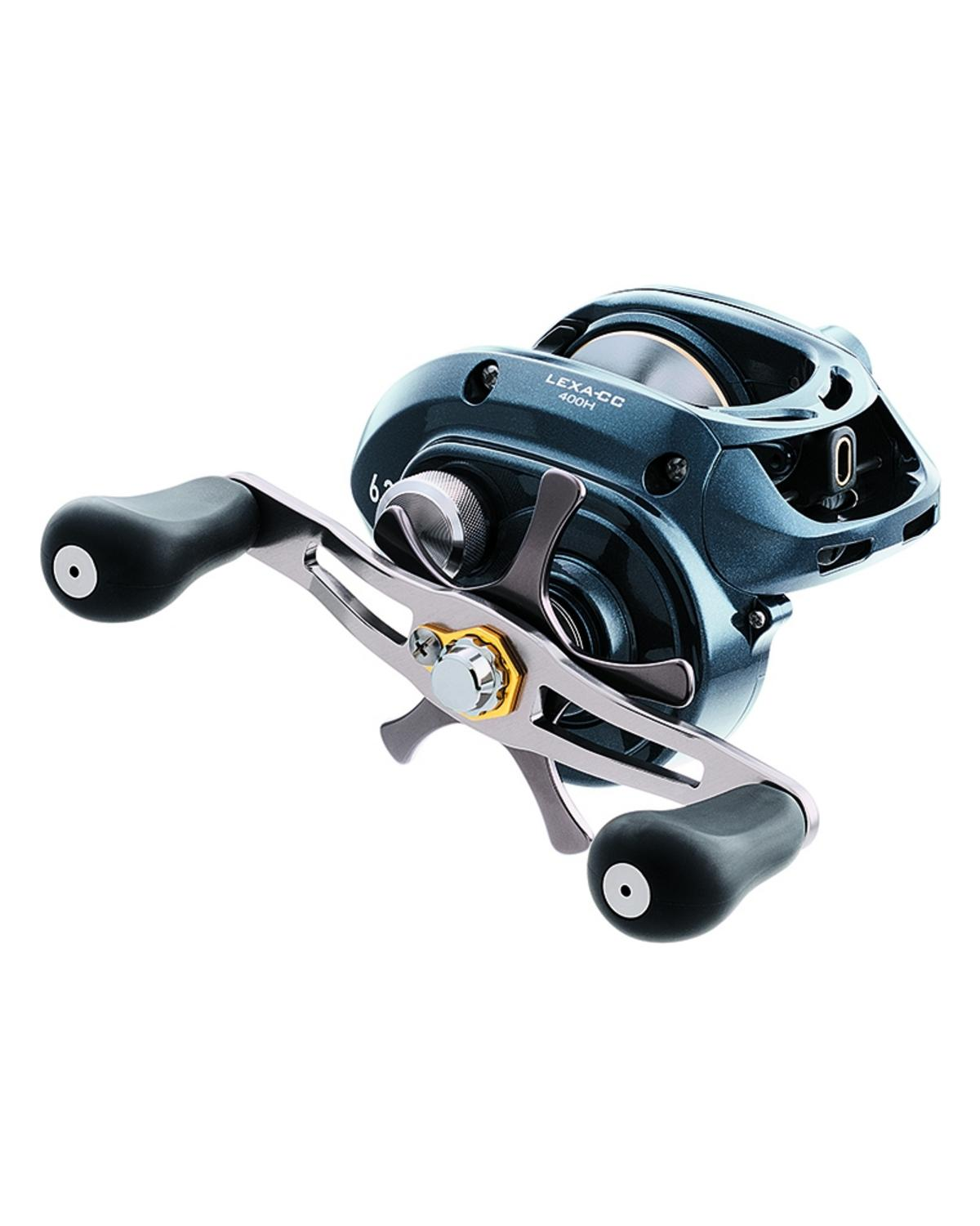 EX DISPLAY DAIWA LEXA CC400H RHW BAITCASTER FISHING REEL LEXA-CC400H