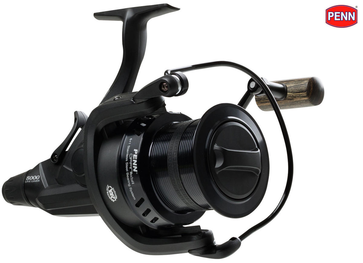 New Penn Affinity II 8000 LC Live Liner Sea / Carp Fishing Reel / Black