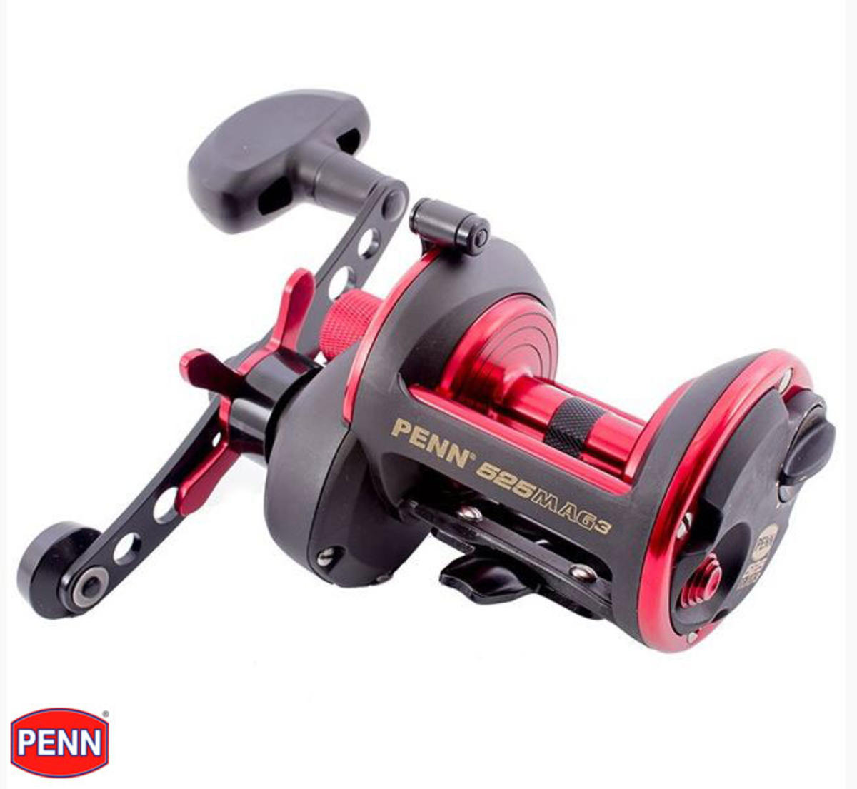 New Penn 525 MAG3 GS Multiplier Sea Fishing Beachcasting Reel