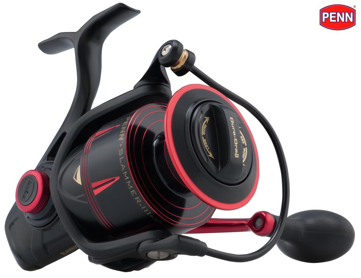 New PENN Slammer III Mk3 HS High Speed Saltwater Spinning Reel 6500HS
