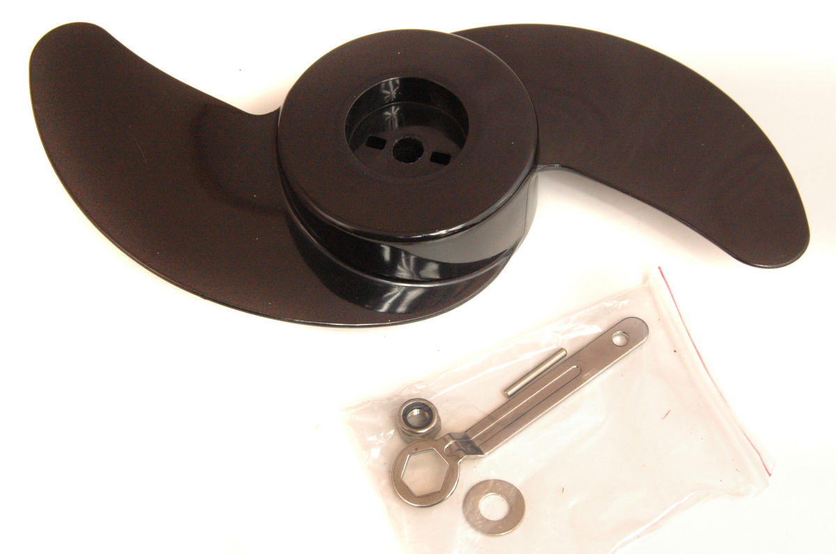 Propeller kit for 55lb Electric Outboards. Fits Bison, Daiwa, and Other Motors