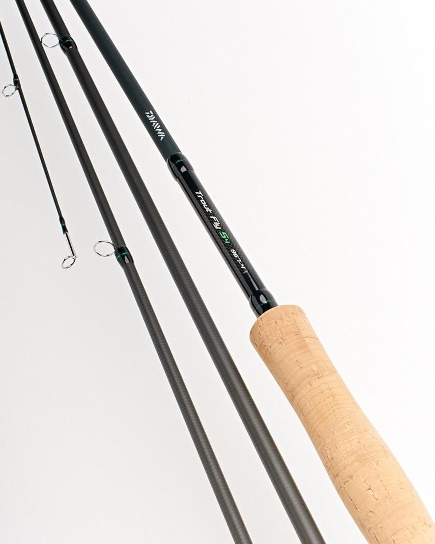 EX DISPLAY Daiwa D Trout S4 Fly Rod 9'6' #7 6pc Model DTF9676-BU