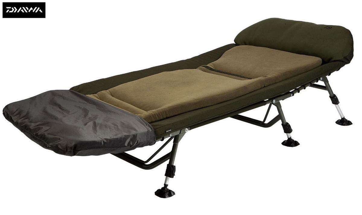 New Daiwa Infinity Plateau Bedchair Fishing Bed Chair - IPBC1