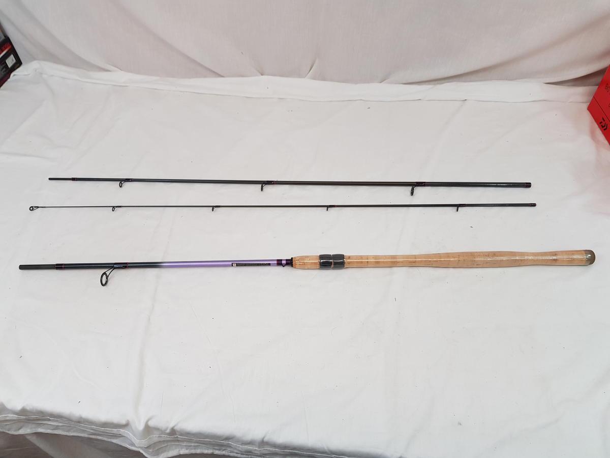Daiwa Ninja Deadbait Fishing Rod 10'6'' 3pc MADE IN UK  Model No. NZ310