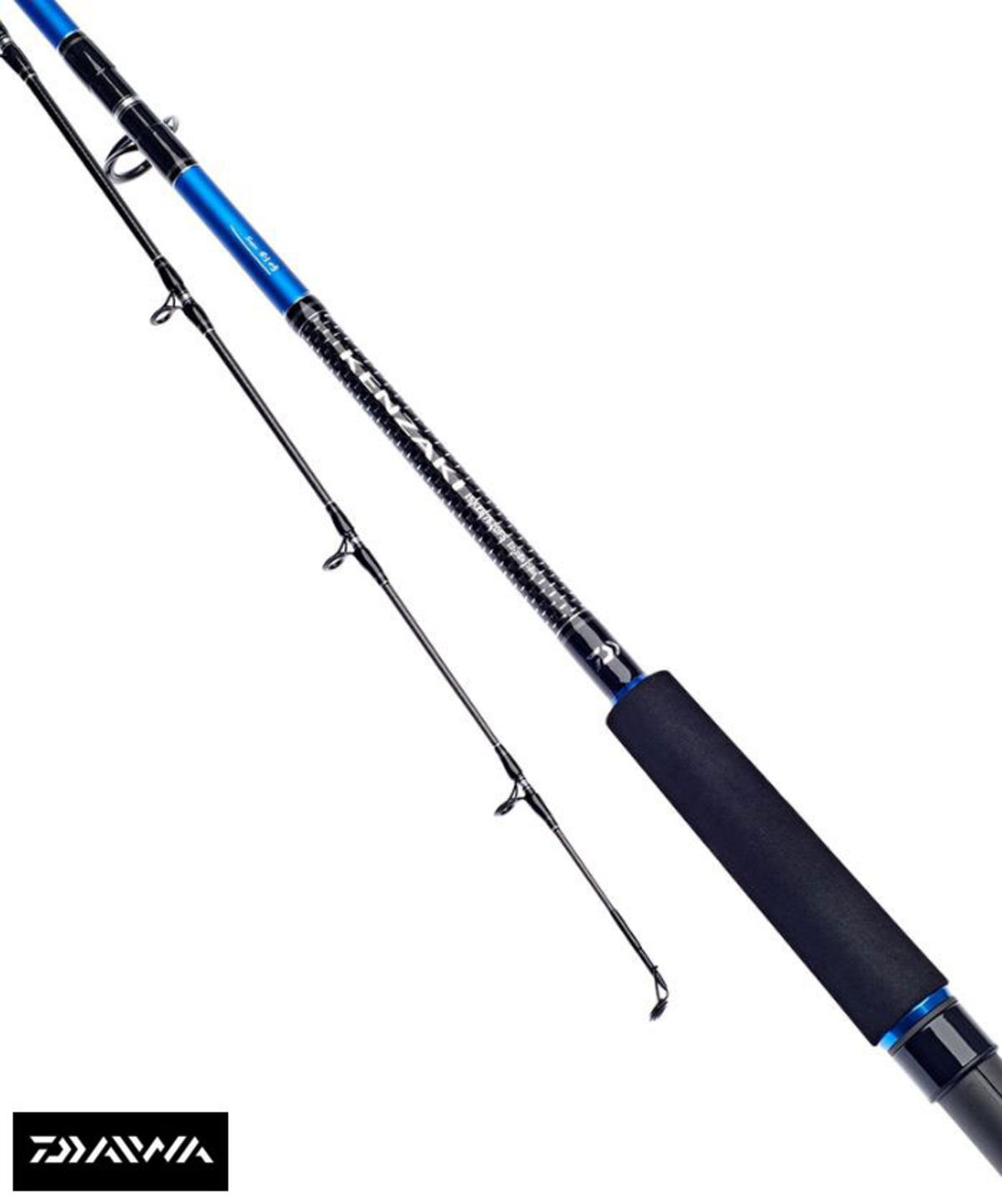 New Daiwa Super Kenzaki Boat 'Fixed Spool' Fishing Rod - All Sizes / Models