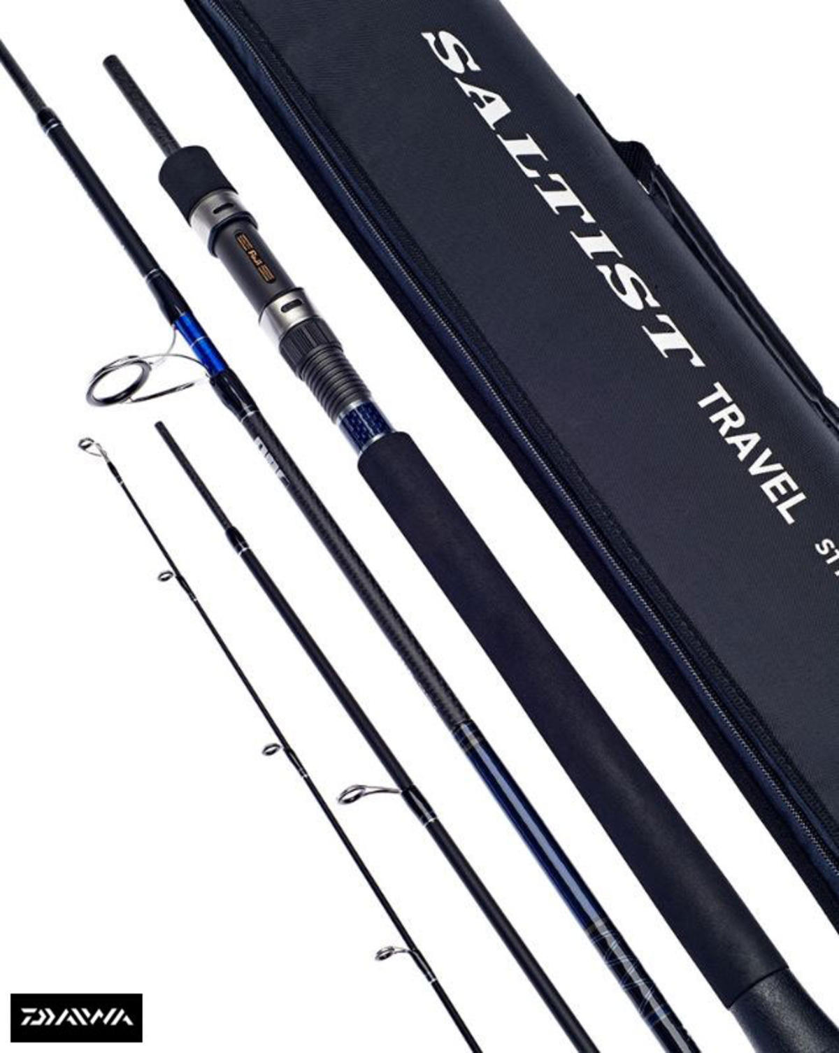 New Daiwa Saltist Travel Spin - Saltwater Fishng Rod - All Models