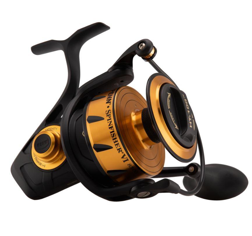 Nueva Penn Penn Penn Spinfisher VI Pesca Carrete giratorio para Agua Salada-Todos Los Modelos 875acc