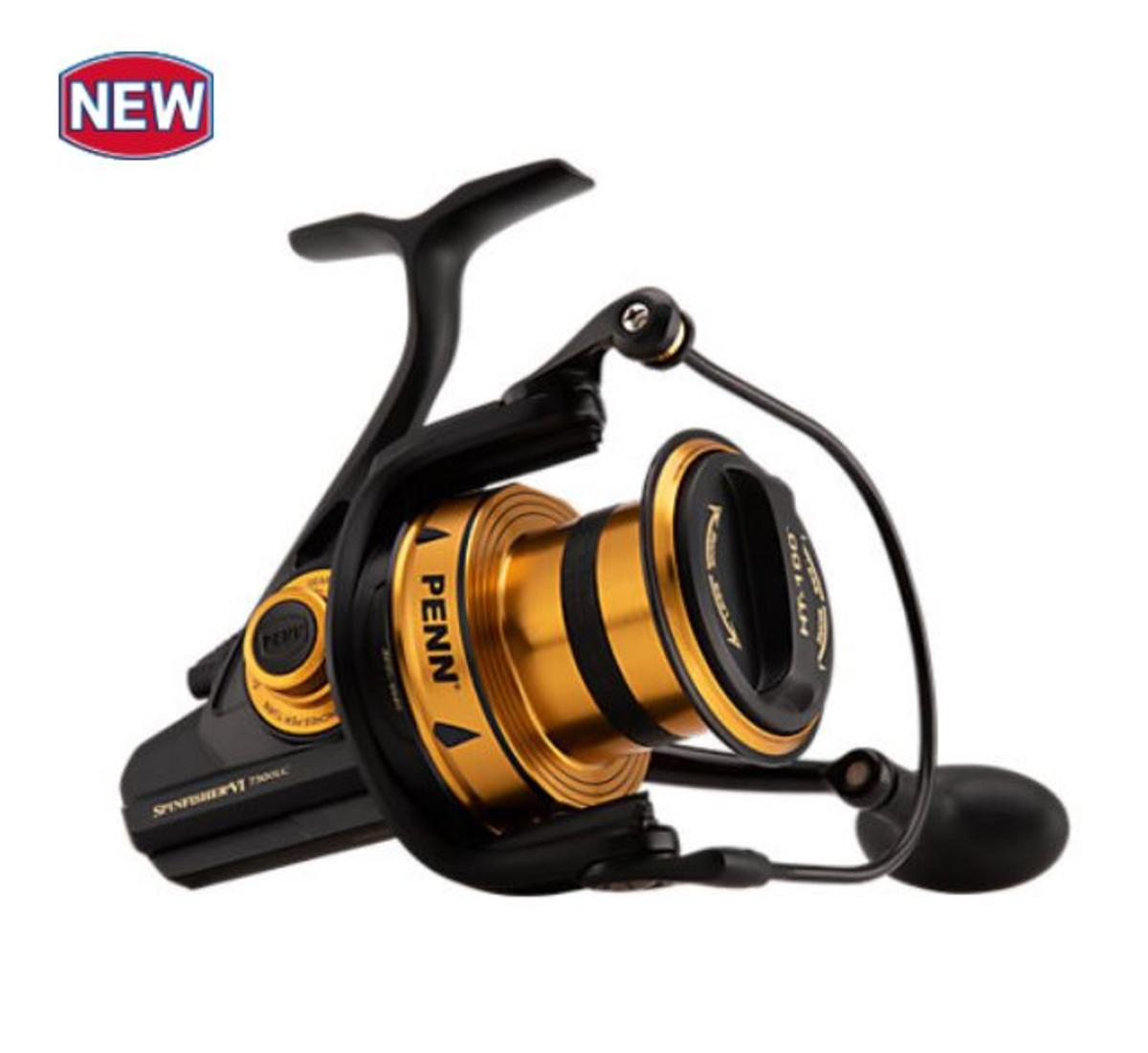 New PENN Spinfisher VI Longcast Saltwater Spinning Fishing Reel - All Models