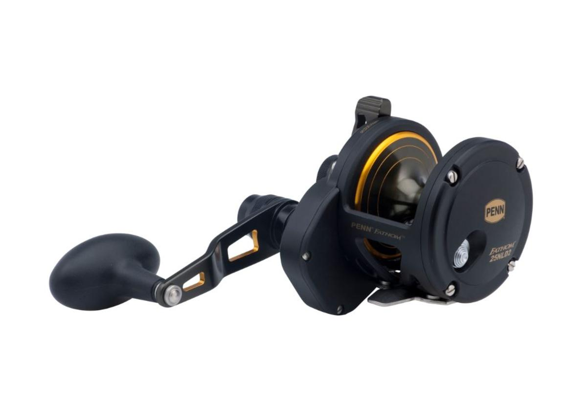 Penn Fathom 25N Lever Drag 2 Speed Multiplier Fishing Reel - FTH25NLD2 - 1292932