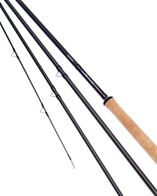 Ex Display Daiwa Wilderness Salmon Fly Rod 14ft #10 4 Section - WNSF1410-4-BU