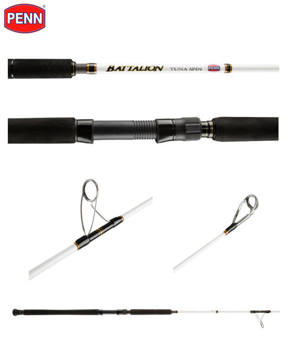 New Penn Battalion Tuna Spin Rod - 8'4' / 2.54m / 80-130g - 1436244