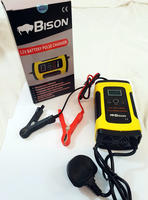 BISON SMART PULSE REPAIR 12V 6A BATTERY CHARGER