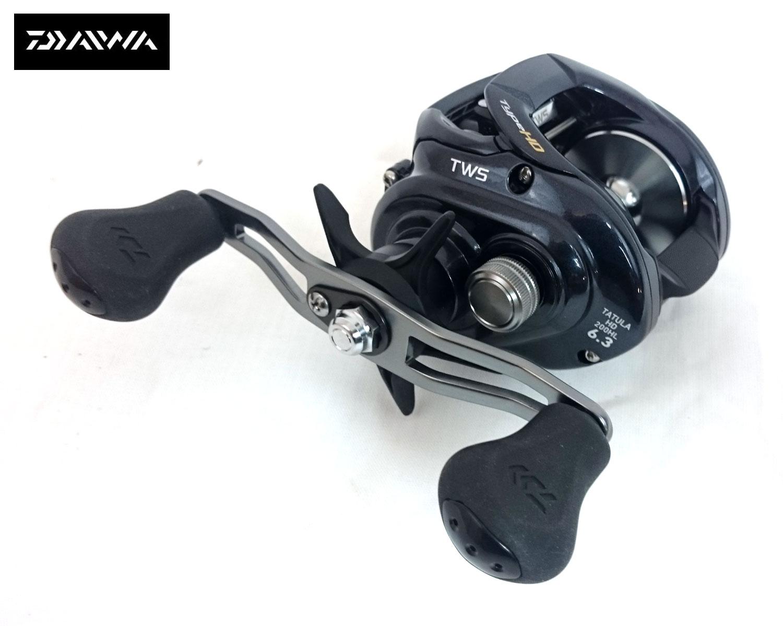 EX DISPLAY DAIWA TATULA TYPE HD 200H BAITCASTER FISHING REEL RHW TATULA200H