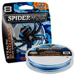 Spiderwire Stealth Smooth Braid Blue Camo 150m & 300m Spools - All Sizes