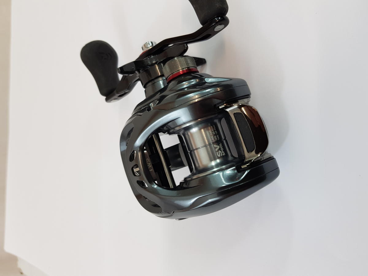 Ex Display Daiwa Tatula SV TWS 7.3 Baitcasting Multiplier Fishing Reel TASSVTW73