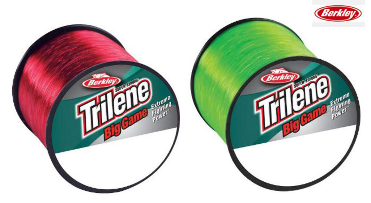 Berkley Trilene Big Game Saltwater Mono Line - Red or Solar Green - Bulk Spool