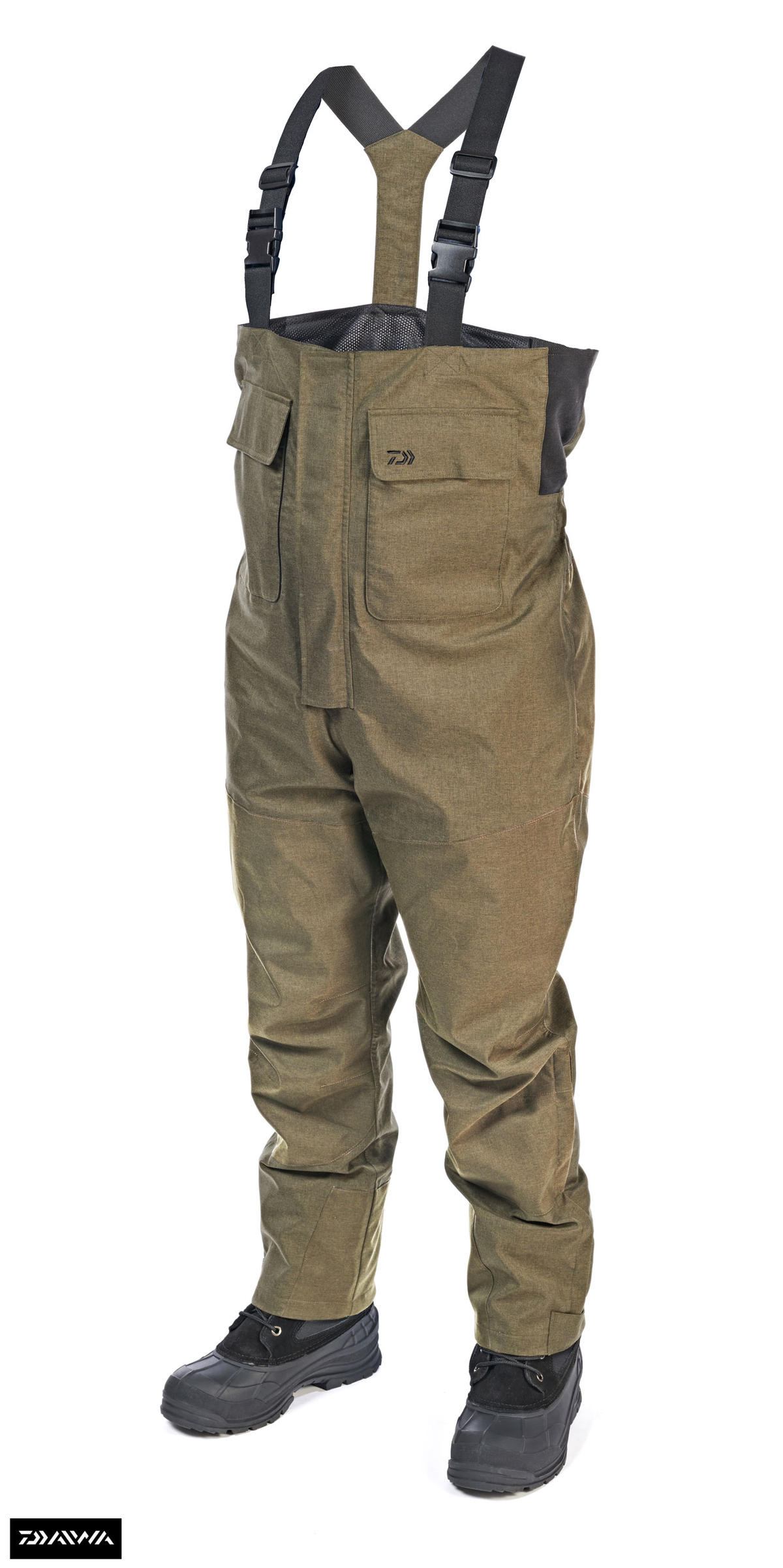 New Daiwa Game Bib 'N' Brace Fishing Trousers - All Sizes - Medium - XXL