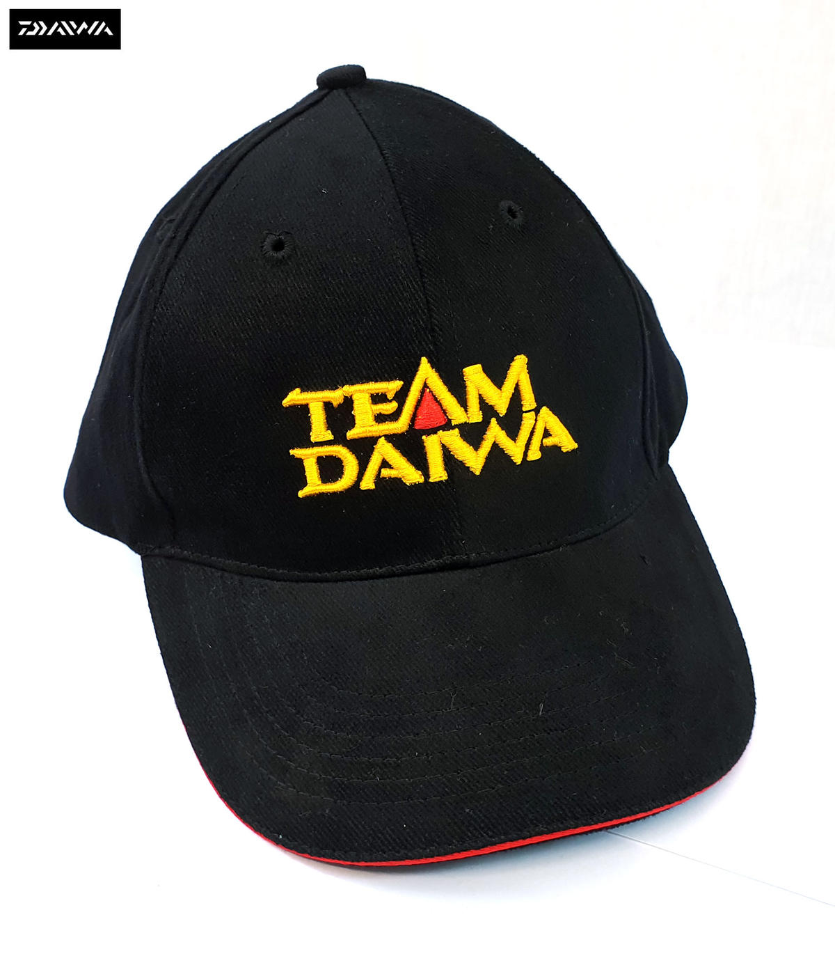 New Team Daiwa Logo Fishing Cap - Black - TDC