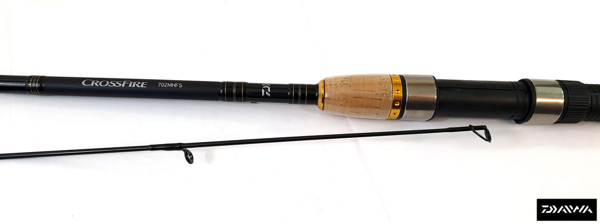 Special Offer Daiwa Crossfire X - 7ft / 7-28g / 2pc - Spinning Fishing Rod