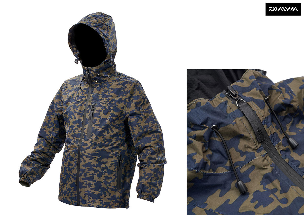 New Daiwa Carp Camo Jacket - Fishing Clothing - All Sizes - Medium - XXXL