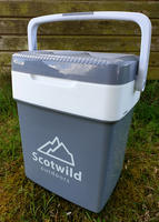 SCOTWILD 31L CAMPING FRIDGE COOLER WARMER 12V/240v with USB PHONE CHARGER