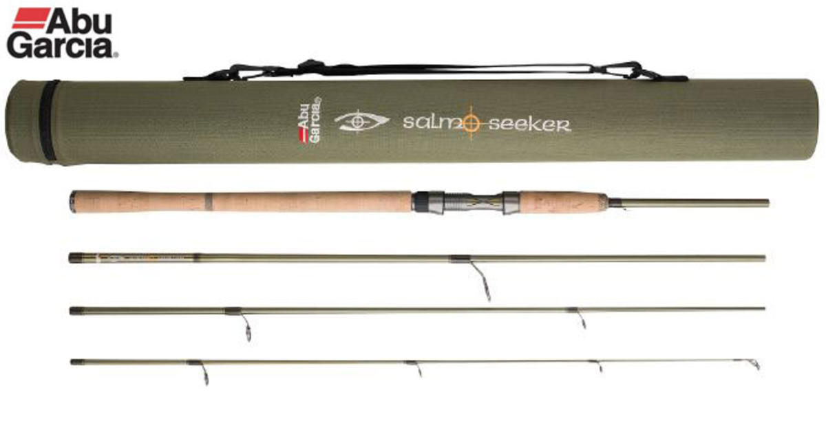 Abu Garcia Salmo Seeker Travel Spinning Rod 10ft ML 15-32g 4pc - 1302974