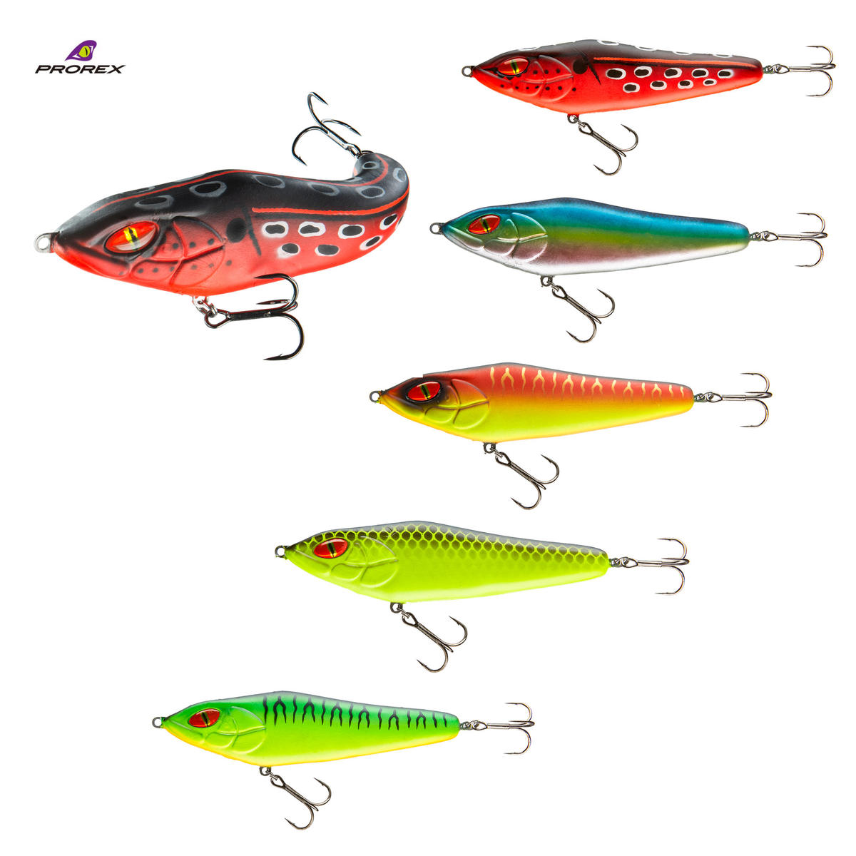 New Daiwa Prorex Jelly Jerk 155 Pike / Predator Lures 15.5cm - All Colours