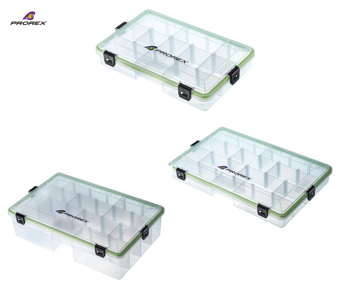 New Daiwa Prorex Sealed Tackle / Lure Box - Pike / Predator - All Sizes