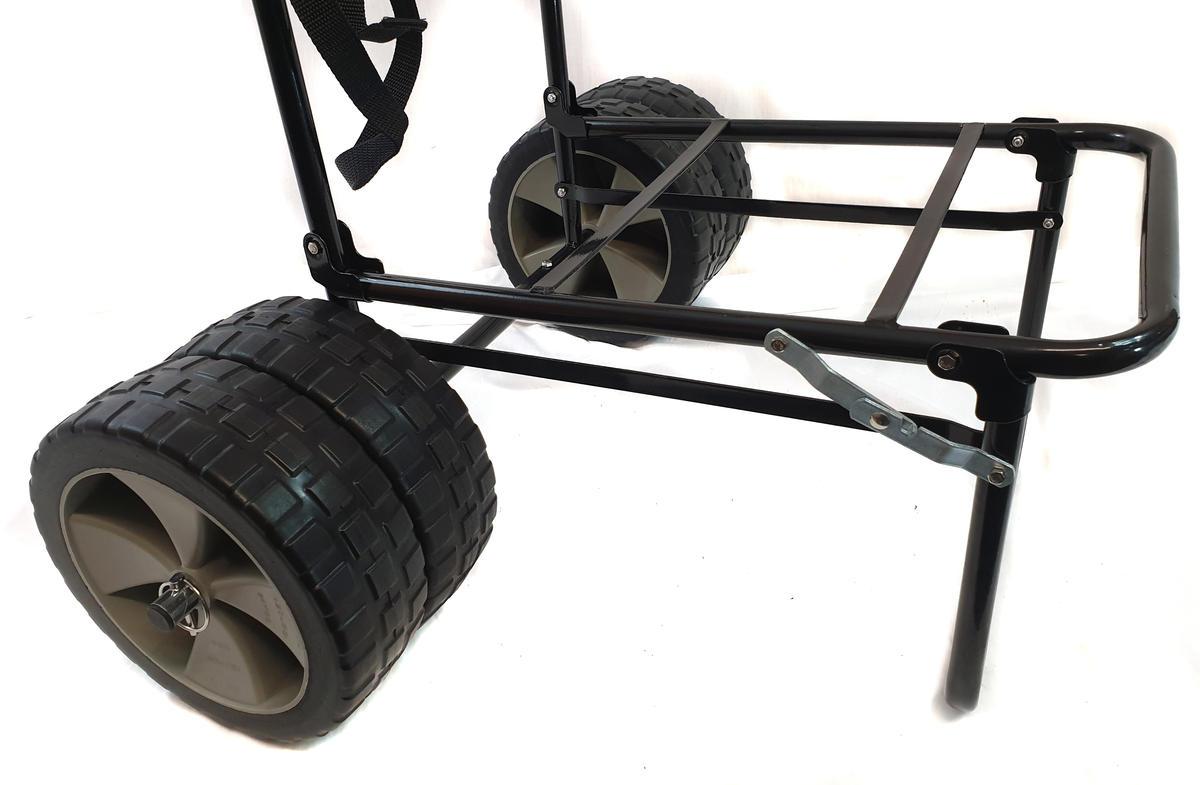 Bison Folding Fishing Seat Box Trolley Choix De 3 Modèles