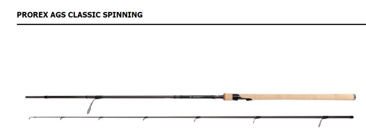 Ex Display Daiwa Prorex AGS 8' 2 sec Spinning Rods PXAGSC802XHFS-AS 50/120g