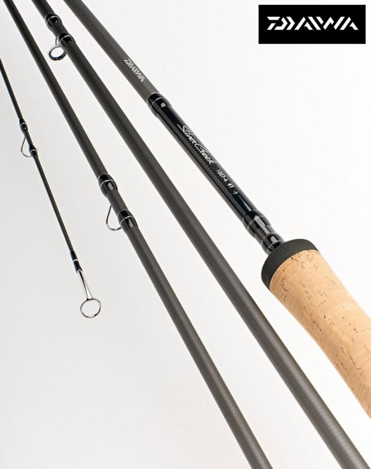 "Ex Display Daiwa Silvercreek 8'6"" 4pc #4 Fly Fishing Rod SCF8654-AU"