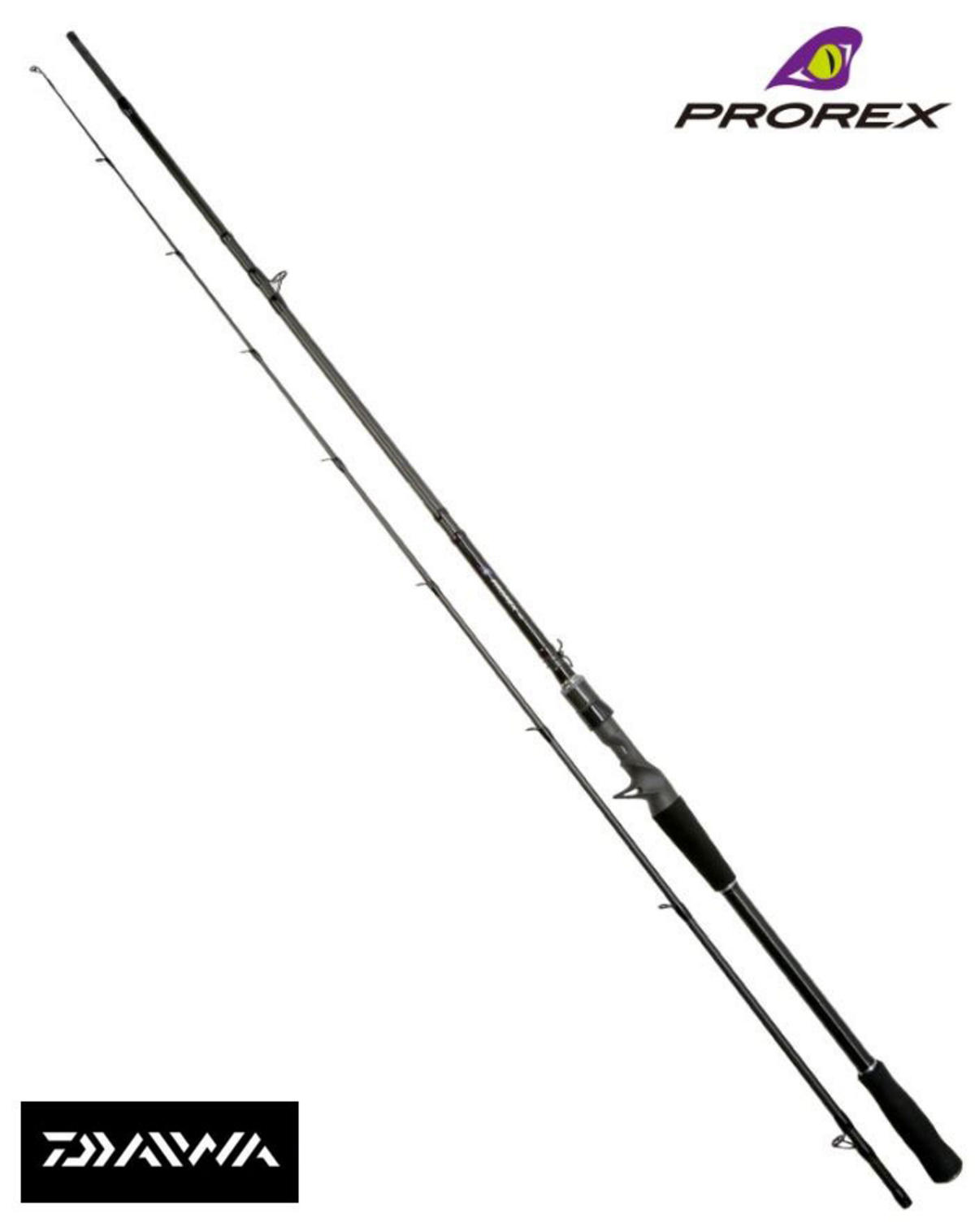 Ex Display Daiwa Prorex AGS Baitcast Spinning Rod Pike/Predator PXAGS802HXHFD-BS