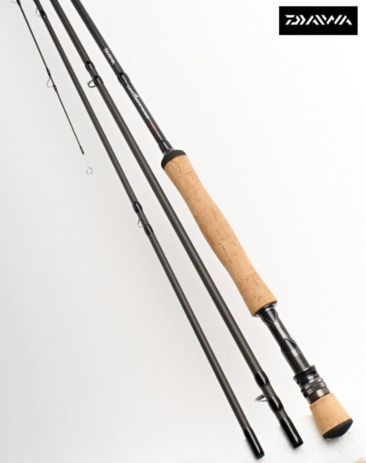 Ex Display Daiwa Wilderness Trout Fly Rod 9' #7 6pc Travel fly rod WNTF9076-BU