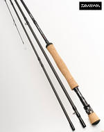 Ex Display Daiwa Wilderness Trout Fly Rod 9' #7 6pc Travel fly rod WNTF9076-BU