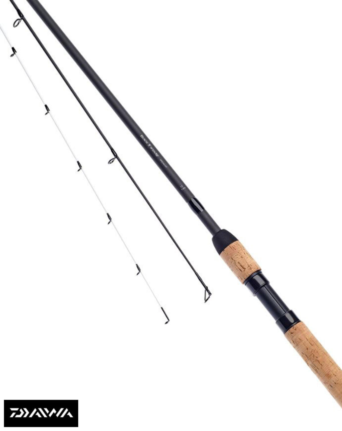 Ex Display Daiwa Black Widow TT Specialist / Barbel Twin Tip Rods 12ft 1.5lb/1.7
