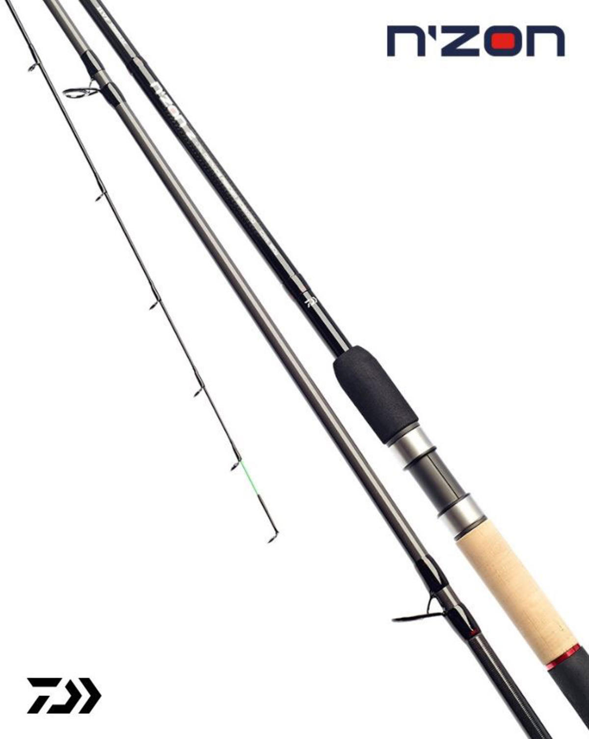 New Daiwa N'ZON Z Feeder / Quiver Fishing Rods - All Models